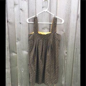 Black and gold jumper dress